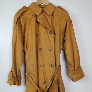 Vintage Burberry tan coat
